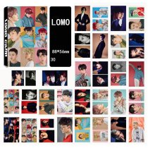 ALLKPOPER EXO 30pcs LOMO Card Postcard EX'ACT LUCKY ONE MONSTER Photocard Poster
