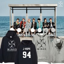 ALLKPOPER KPOP BTS Wings You Never Walk Alone Sweatershirt Unisex Bangtan Boys Coat Jimin