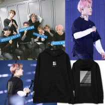 ALLKPOPER  KPOP BTS Wings Cap Hoodie Sweater Bangtan Boys In Seoul Unisex Sweatershirt Suga