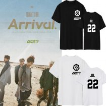 ALLKPOPER KPOP GOT7 FLIGHT LOG : ARRIVAL Tshirt  Unsiex JB Jackson T-shirt Short Sleeve Tee