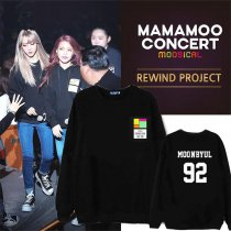ALLKPOPER KPOP MAMAMOO MOOSICAL Curtain Call Sweater Unisex WHASA Hoodie Pullover Hwa Sa