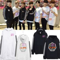 ALLKPOPER KPOP GOT7 Fly Concert In Japan Cap Hoodie Sweater Jackson Sweatershirt Mark Coat