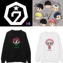 ALLKPOPER KPOP GOT7 Cartoon Sweater Jackson Hoodie Unisex Mark JB JR Pullover Sweatershirt