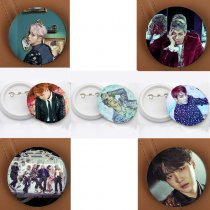 ALLKPOPER Kpop BTS Wings Badge Bangtan Boys Brooch Chest Pin Jung KooK Rap Monster Jimin