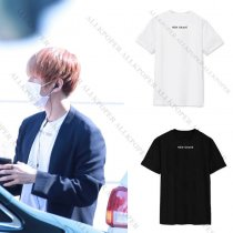 ALLKPOPER KPOP EXO Baekhyun T-shirt Airport Fashion Tshirt Merchandise Cotton Tee