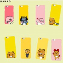 ALLKPOPER KAKAO Apeach Mobile Phone Cover Skins Facial Expression Cellphone Case