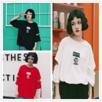 ALLKPOPER KPOP EXO PLANET#3 The EXO'rDIUM Three-Quarter T-shirt SEHUN Tshirt KRIS Cotton Tee