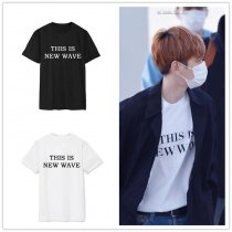 ALLKPOPER KPOP EXO BaekHyun T-shirt Airport Fashion Tshirt Fashion Tops New Unisex Cotton
