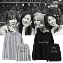 ALLKPOPER Kpop Sistar Sweatershirt New Album Lonely Kim Hyo Jung SoYou Yoon Bo Ra Sweater