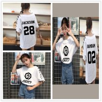 ALLKPOPER KPOP GOT7 MARK T-shirt Jackson Tshirt Unisex Short Sleeve Cotton Bambam JB JR