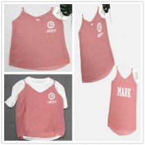 ALLKPOPER KPOP GOT7 Sleeveless Vest Fashion Women Summer Shirt Jackson  GOT7 Sleeveless Vest  Tee