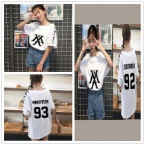 ALLKPOPER KPOP Monsta x T-shirt WONHO Tops Tshirt Fashion Women Cotton JOOHEON Cotton Tee