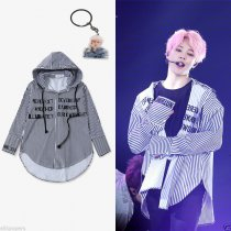 ALLKPOPER KPOP BTS JIMIN in Seoul Concert Hoodie Shirt Bnagtan Boys Fashion Long Shirt