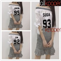 ALLKPOPER KPOP BTS Jimin Dress Bangtan Boys Jung Kook Merchandise Skirt J-hope Jin Suga V