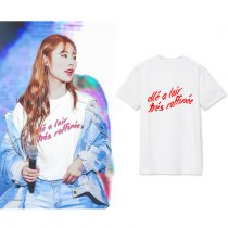 ALLKPOPER Kpop Mamamoo Whee In T-shirt Concert Tshirt 2017 New Casual Cotton Summer Tee