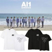 ALLKPOPER Kpop Seventeen T-shirt 4th Mini Album Al1 DINO THE8 MINGYU HOSHI VERNON Tshirt