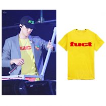 ALLKPOPER Kpop EXO Sehun T-shirt Concert Tshirt 2017 New Casual Cotton Summer Cotton Tee