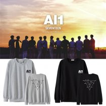 ALLKPOPER Kpop Seventeen Sweater 4th Mini Album Al1 S.COUPS HOSHI WONWOO VERNON Sweater