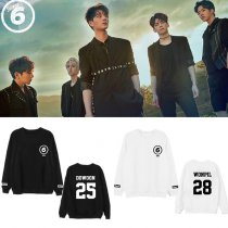 ALLKPOPER Kpop Day6 Sweater Young K Dowoon Causal Sweatershirt Jae Long Sleeve Sungjin