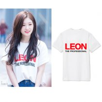 ALLKPOPER Kpop DIA Chae Yeon T-shirt Street Shooting Tshirt 2017 New Casual Summer Cotton