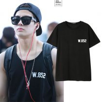 ALLKPOPER Kpop GOT7 Jackson Tshirt Never Ever Airport Fashion WANG Cotton T-shirt