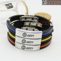 ALLKPOPER Kpop GOT7 Bracelet DIY JACKSON BAMBAM MARK JB JR YOUNGJAE YUGYEOM Wristband