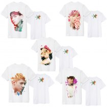 ALLKPOPER KPOP EXO T-Shirt THE WAR Tshirt Casual Tee Tops Short Sleeve 2017 New Kai SUHO