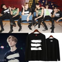 ALLKPOPER KPOP GOT7 Sweater MY SWAGGER Concert Hoodie 2017 New Sweatershirt