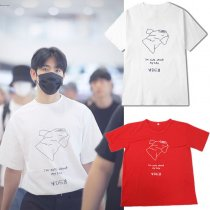 ALLKPOPER KPOP GOT7 JR T-shirt Airport Fashion Tshirt 2017 NEW Casual Summer Tee Tops