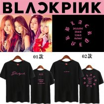 ALLKPOPER KPOP BLACKPINK T-shirt SQUARE ONE Concert LISA ROSE Tshirt 2017 New Casual Tee Tops