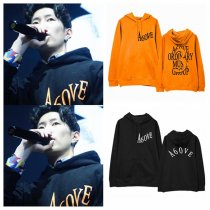 ALLKPOPER KPOP 2PM Loco Cap Hoodie Concert Hoody Pollover Sweatershirt Letter Fashion Tops GENTLEMEN'S GAME