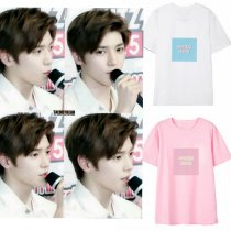 ALLKPOPER KPOP NCT Johnny T-shirt Selfie Tshirt NCT 127 Tops Casual Letter Summer Cotton Tee