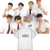 ALLKPOPER KPOP EXO Chanyeol T-shirt Game program The same paragraph Tshirt Casual Tee Tops