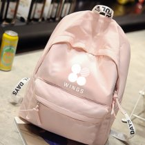 ALLKPOPER KPOP BTS Backpack EXO Cute Bag GOT7 Shoulder Bookbag MONSTA X Student Back to School Unisex SUGA KAI