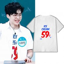 ALLKPOPER KPOP EXO XIUMIN T-shirt Game program The same paragraph Tshirt Tee Tops Casual
