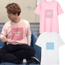 ALLKPOPER KPOP NCT 127 Johnny T-shirt Street Shooting Concert Tshirt Casual letter Tee Tops