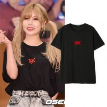 ALLKPOPER KPOP T-ara Lee Ji Hyun T-shirt Street Shooting Tshirt 2017 New Casual Tee Tops