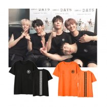 ALLKPOPER KPOP DAY6 T-shirt Every Day6 In July Concert Tshirt Casual Letter Tee Tops