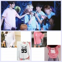 ALLKPOPER KPOP Seventeen17 T-shirt DINO Cap Tshirt HOSHI Long  Sleeves MINGYU Tee Tops THE8
