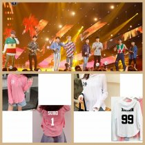 ALLKPOPER KPOP EXO T-shirt SUHO Cap Tshirt SEHUN Long Sleeves KAI Tee Tops CHANYEOL DO