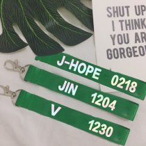 ALLKPOPER KPOP BTS Key Chain Wings Keyring Bangtan Boys RAP MONSTER JUNG KOOK V J-HOPE