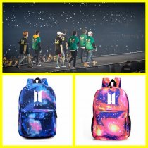 ALLKPOPER KPOP BTS Backpack Wings Bangtan Boys Bag JIN Bookbag JIMIN Student Back J-HOPE
