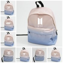 ALLKPOPER KPOP BTS Backpack EXO Bag GOT7 Bookbag MONSTA X Student Back SEVENTEEN EXID BAP