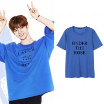ALLKPOPER KPOP Wanna One BAE JIN YOUNG T-shirt Tshirt Casual Letter Tee Tops