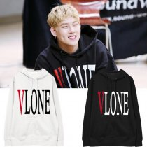 ALLKPOPER KPOP MONSTA X Lee Joo Heon Cap Hoodie Fan Meeting Hoody Pollover Sweatershirt Casual Letter Tops