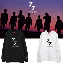 ALLKPOPER KPOP GOT7 7FOR7 You Are​ Around JB Cap Hoodie JACKSON Hoody Pullover YUGYEOM​ Sweatershirt