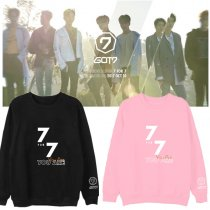 ALLKPOPER KPOP GOT7 JB Hoodie BAMBAM 7FOR7 You Are​ Around Hoody Pullover YUGYEOM​ Sweatershirt
