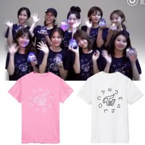 ALLKPOPER KPOP TWICE T-shirt One More Time Tshirt TWISTAR Letter Tee Short Sleeve