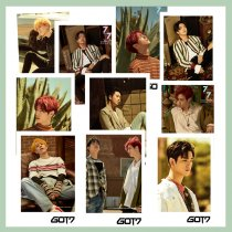 ALLKPOPER 30 Pcs KPOP GOT7 Lomo Card 7 FOR 7 Photo JaeHyun Picture Chenle RENJU N MARK