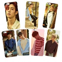 ALLKPOPER KPOP GOT7 Phone Case 7FOR 7 Cellphone Case Haechan Phone Cover JaeHyun MARK
